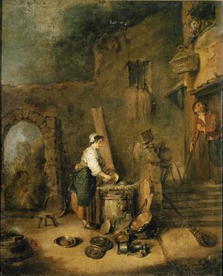 Antoine Watteau. Cook