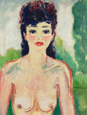 Kees Van Dongen. Bust naked. Around 1920