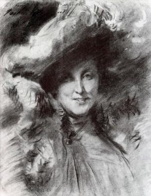 John Singer Sargent. Mrs. Charles Hunter