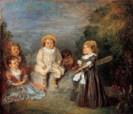 Antoine Watteau. Golden age