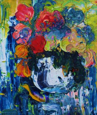 Alexander Ocher Kandinsky-DAE. Still life blue