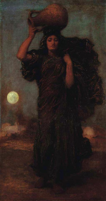 Frederic Leighton. Girl