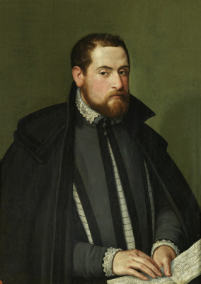 Sofonisba Anguissola. Portrait of a musician