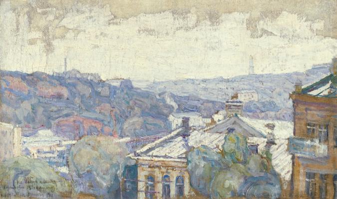 Абрам Аншелевич Маневич. View of Kiev