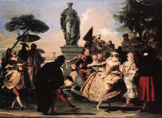 Giovanni Domenico Tiepolo. Minuet