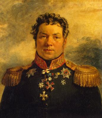 George Dow. Portrait of Peter Yakovlevich Kornilov