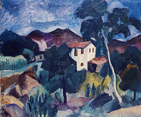 Robert Rafailovich Falk. Crimean landscape