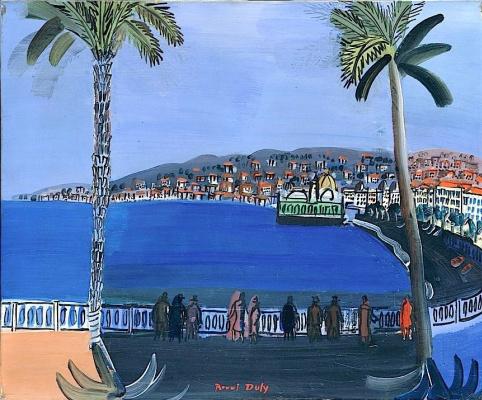 Raoul Dufy. Sumerku the Bay of Angels