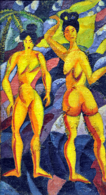 David Davidovich Burliuk. Women from the tropics