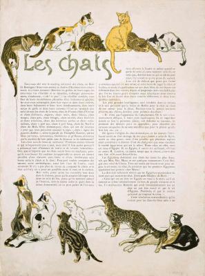 Theophile-Alexander Steinlen. Cat I