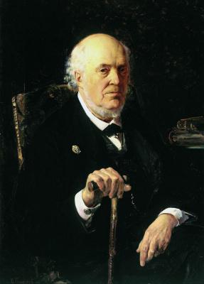 Vladimir Egorovich Makovsky. Portrait of E. I. Makovsky