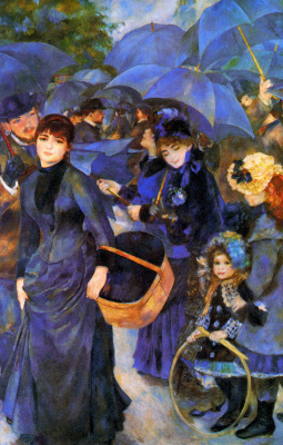 Pierre-Auguste Renoir. The umbrellas