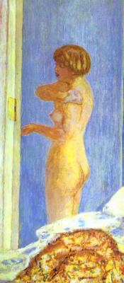Pierre Bonnard. Nude woman