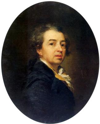 Дмитрий Григорьевич Левицкий. Автопортрет