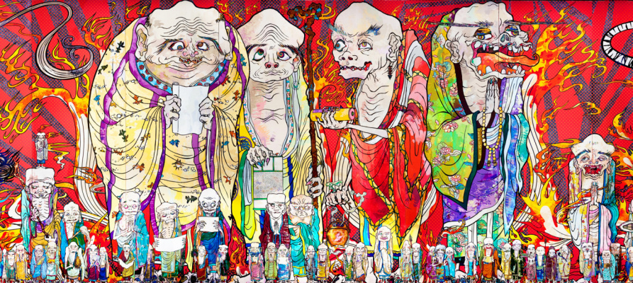 Takeshi Murakami. The 500 Arhats
