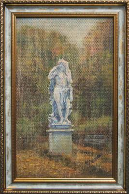 """Евгений Геннадиевич Лактионов. """"Summer Garden"""", study"""