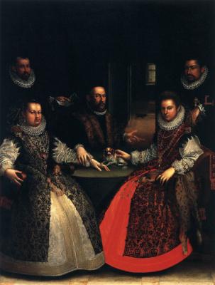 Лавиния Фонтана. Портрет семьи Гоццадини