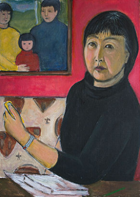 Indira Baldano. Self-portrait