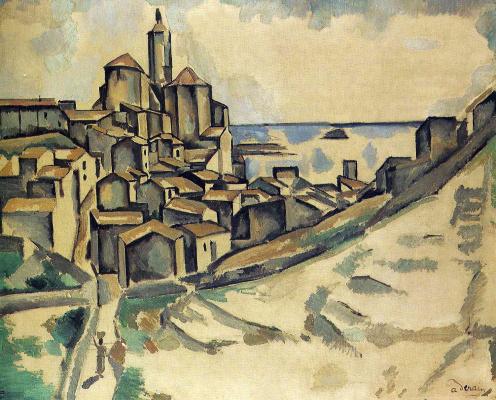 Andre Derain. Landscape in Cadaques
