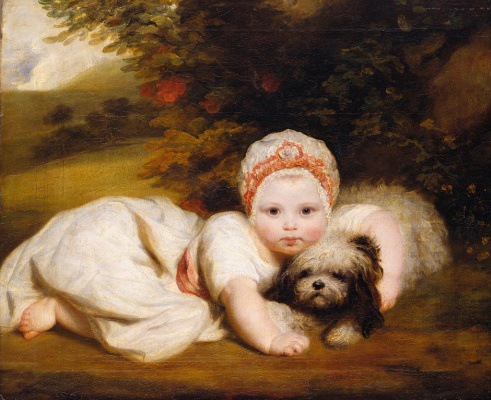 Joshua Reynolds. Princess Sofia Matilda of Gloucester