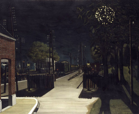 Paul Delvo. Night