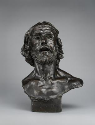 Auguste Rodin. Saint John The Baptist
