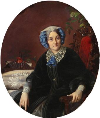Sergey Konstantinovich Zaryanka. Portrait of Princess Isabella Adamovna Gagarina