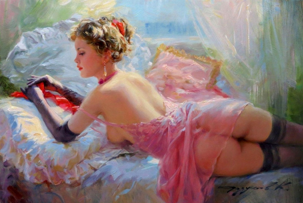Constantine Razumov. Red clothes.