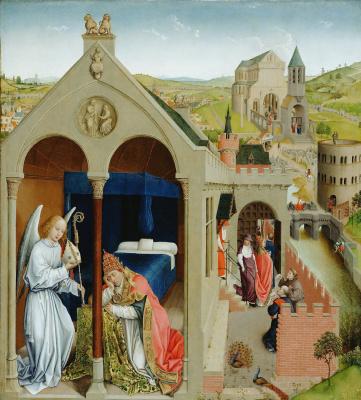 Рогир ван дер Вейден. Сон папы Сергия