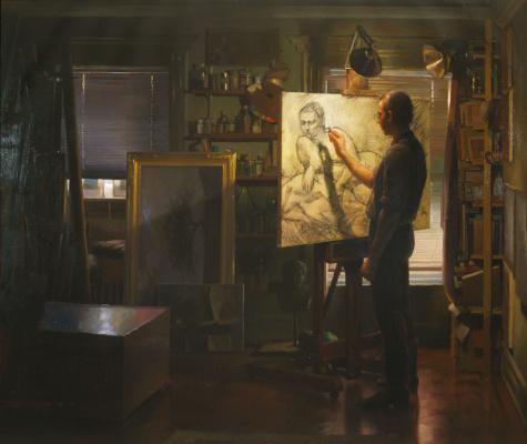 Гримальди в студии