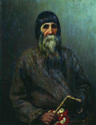 Ilya Efimovich Repin. Portrait of a peasant