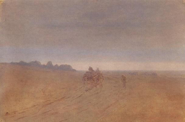 Архип Иванович Куинджи. Осень. Туман