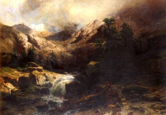 Александр Калам. Гора
