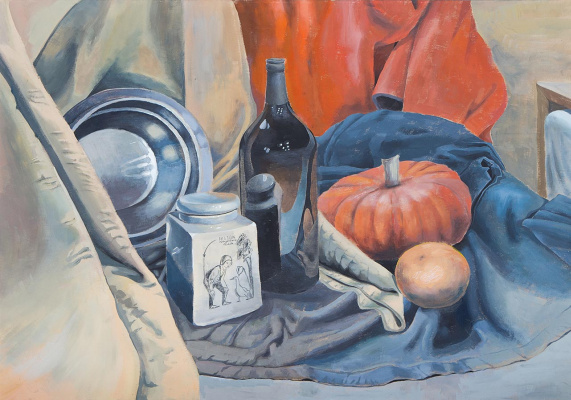 Евгений Морозов. Still Life with Pumpkin
