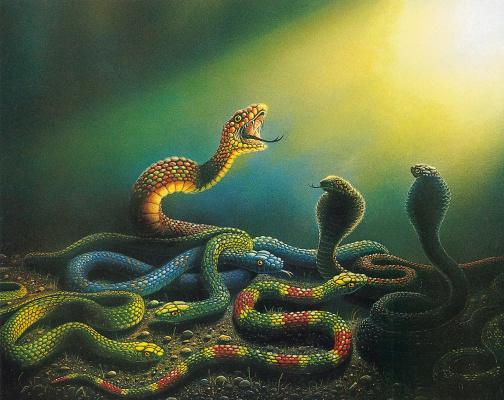 Дэнни Флинн. Змеи