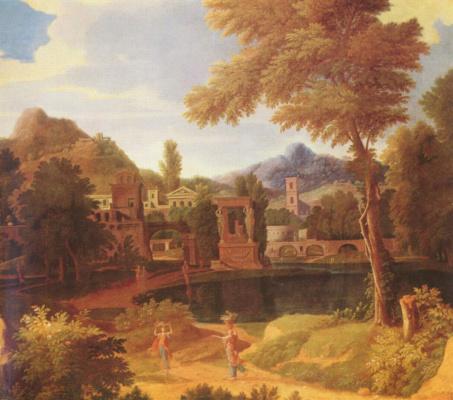 Jean-François Millet. Perfect scenery