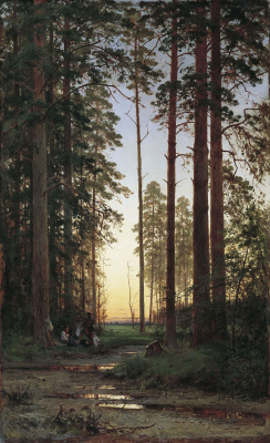 Ivan Ivanovich Shishkin. The edge of the forest