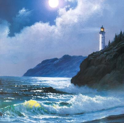 Anthony Kasei. Lighthouse