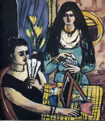 Max Beckmann. Two women