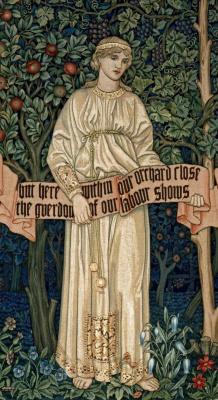 William Morris. Orchard. Fragment III