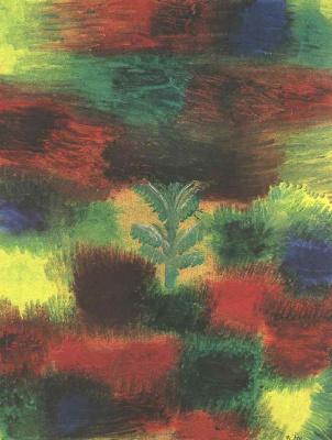 Paul Klee. Little tree amid shrubbery