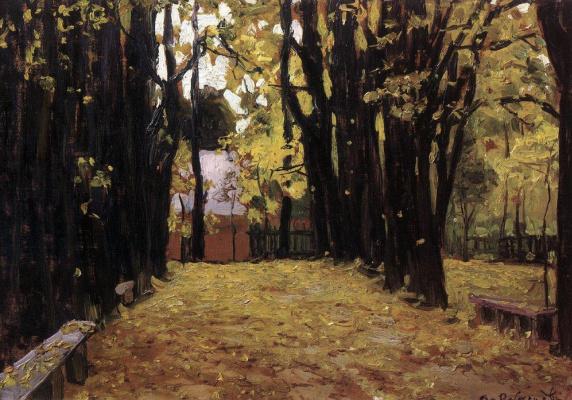Apollinarius Mikhailovich Vasnetsov. Autumn
