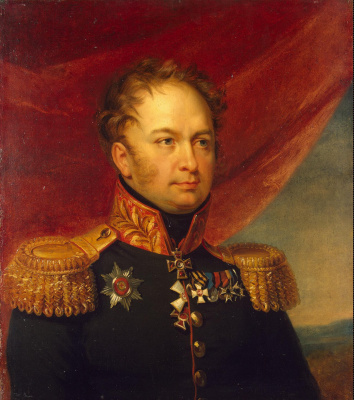 George Dow. Portrait of Mikhail Fedorovich Vlodek