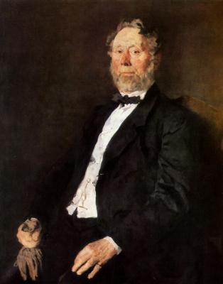 Вильгельм Мария Хубертус Лейбль. Портрет Иоганна Генриха Палленберга