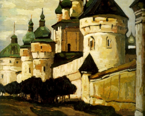 Nicholas Roerich. Rostov The Great (Church Of St John The Evangelist)
