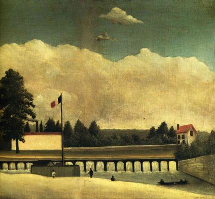 Henri Rousseau. Dam