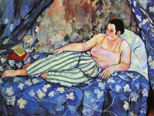 Suzanne Valadon. Blue room