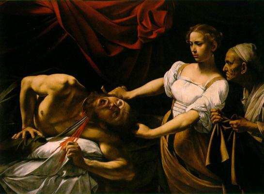 Michelangelo Merisi de Caravaggio. Judith and Holofernes