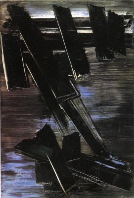 Pierre Soulaj. Untitled (Picture No. 130)
