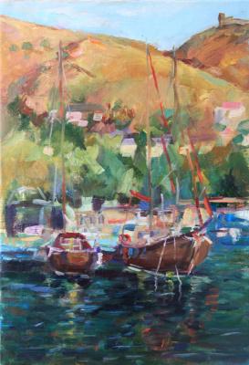 """Олеся Николаевна Смирнова. """"An evening at the Balaklava Harbor"""""""
